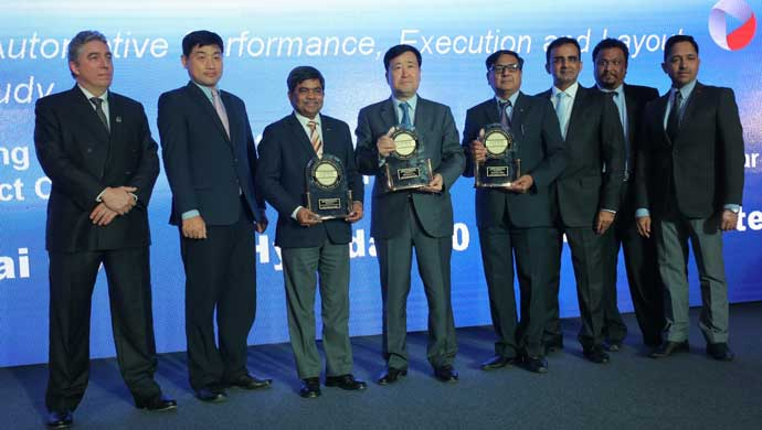 Hyundai receiving APEAL awards