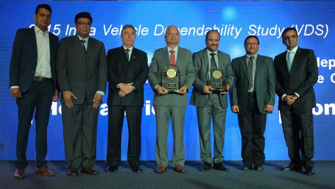 Honda receiving VDS awards