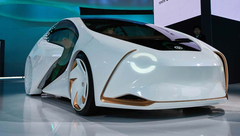 A Toyota concept vehicle at the 2017 Tokyo Motor Show / Picture for representation purpose only