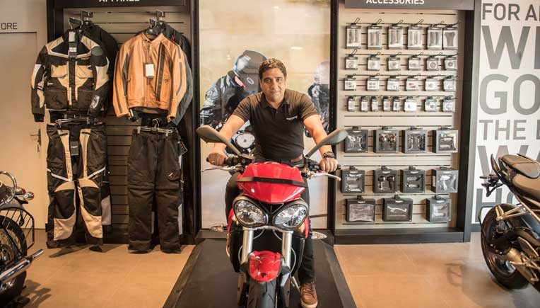 Vimal Sumbly, Managing Director, Triumph Motorcycles India Pvt. Ltd
