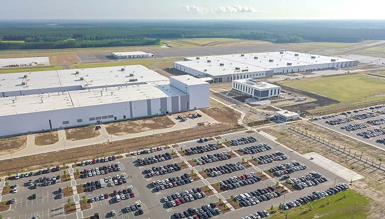 Volvo Cars plant in US