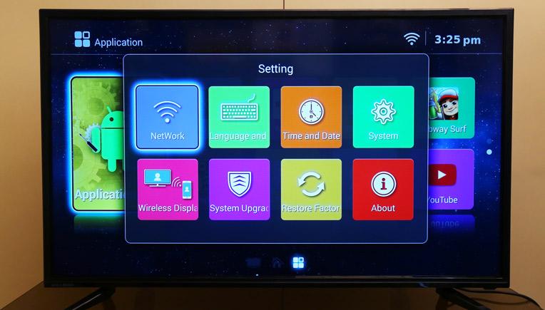 Image result for Noble Skiodo Smart LED TV