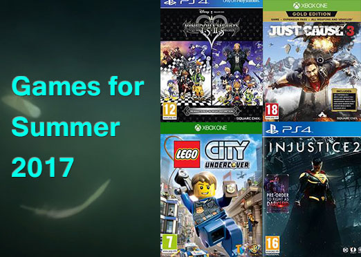 Games to look out for in summer 2017