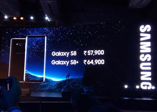 Samsung Galaxy S8 and S8+ launched in India