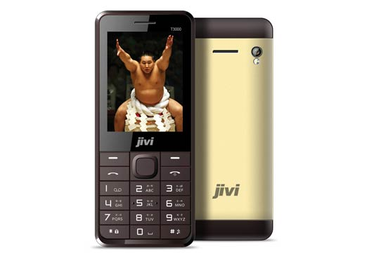 Sumo T3000 with 3500mAh battery launched by Jivi Mobiles for Rs 1,490