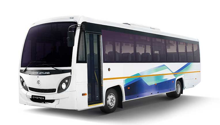 Ashok Leyland launches Oyster- next gen AC Midi-Bus