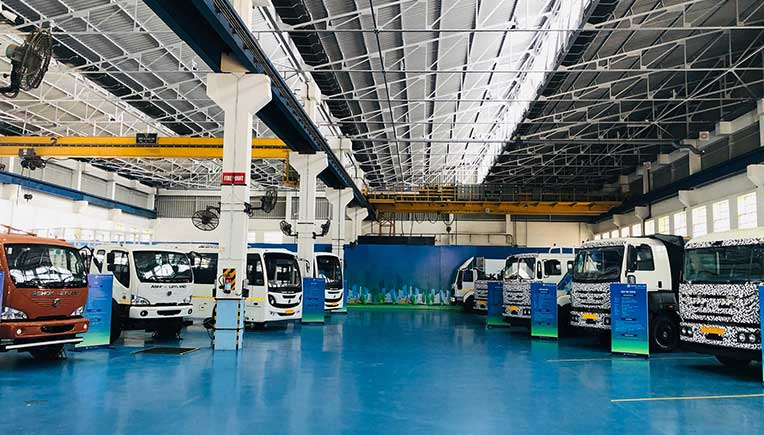 Ashok Leyland showcases BS-VI trucks and buses
