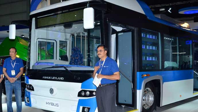 Ashok Leyland unveils four next gen tech products