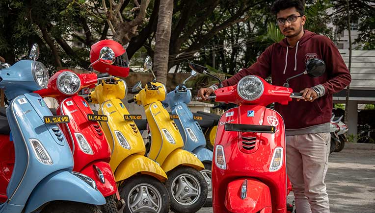 Drivezy to roll out 10,000 bikes, creating largest vehicle sharing fleet in India