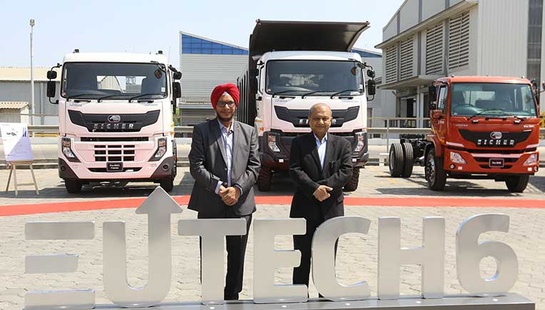 Eicher unveils its entire BS-VI range of trucks and buses