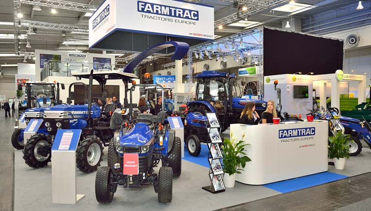 Farmtrac Tractors at Agritechnica 2017
