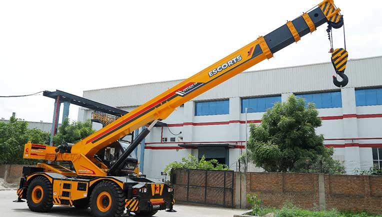 Escorts crane
