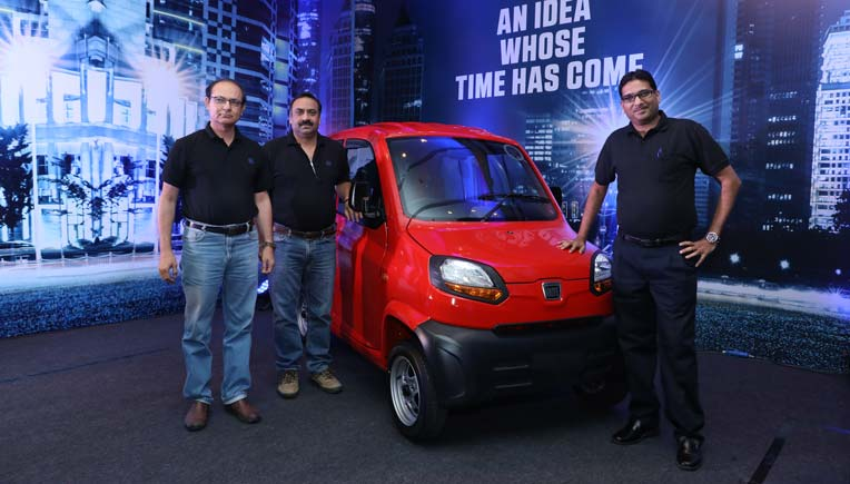 Bajaj Qute quadricycle launched for Rs 2.48 lakh