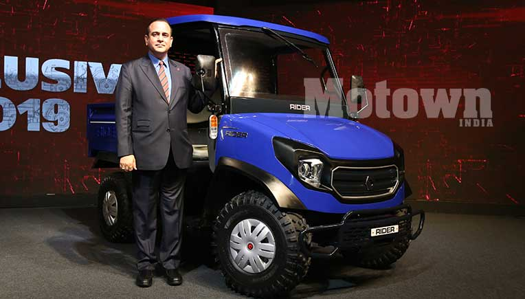 Escorts to launch RIDER rural transport vehicle in 12 months at Rs 3.5 lakh