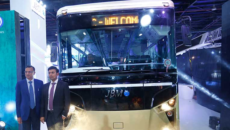JBM Auto launches Eco-Life e9 electric bus