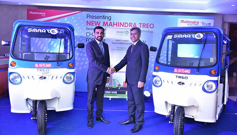 Mahindra Electric, SmartE enter into strategic partnership