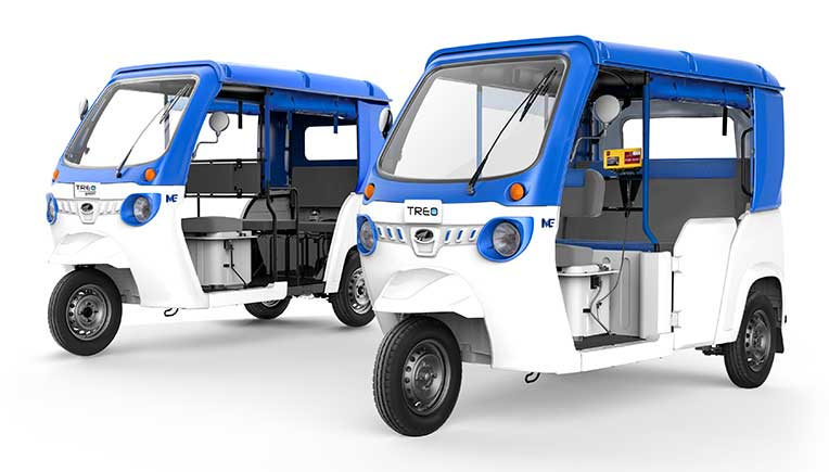 Mahindra Treo electric 3-wheeler achieves 5,000 units sales