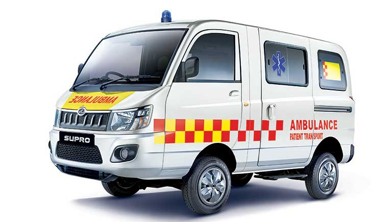 Mahindra launches BS6 Supro Ambulance; 1st batch for Maharashtra Govt