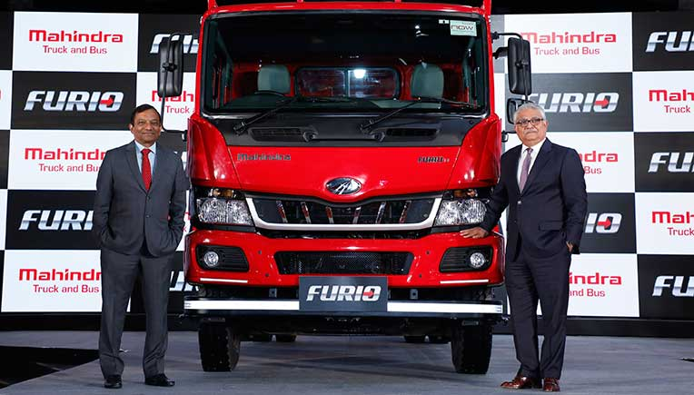 Mahindra launches Furio truck at Rs 17.45 lakh onward