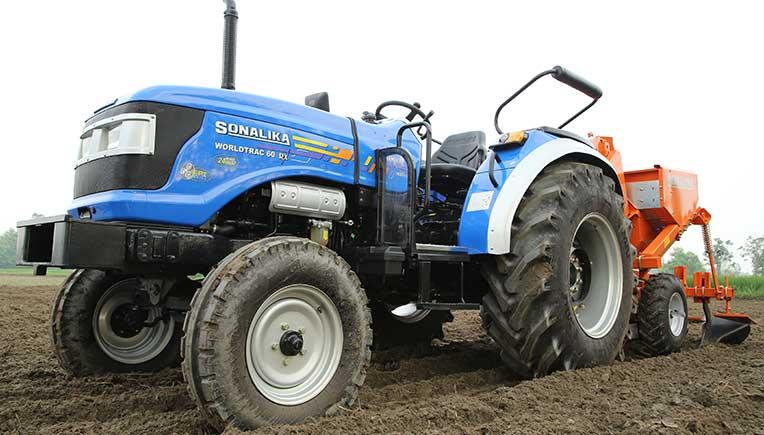 Sonalika Tractors registers growth of 54% in Nov'18