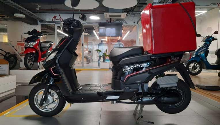 Hero Electric NYX-HX B2B e-scooter gives 210km range per charge