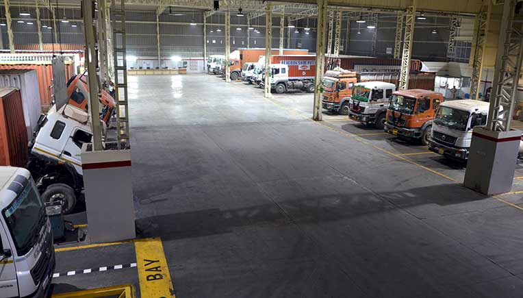 India's largest BharatBenz service facility