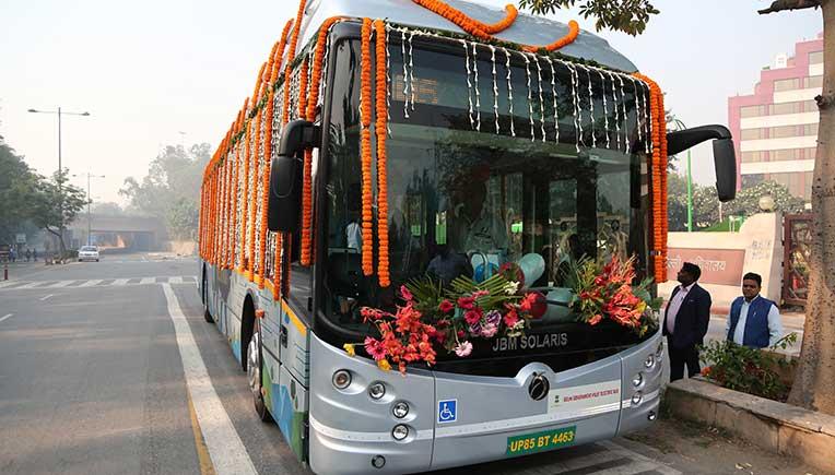 JBM Eco-Life electric bus