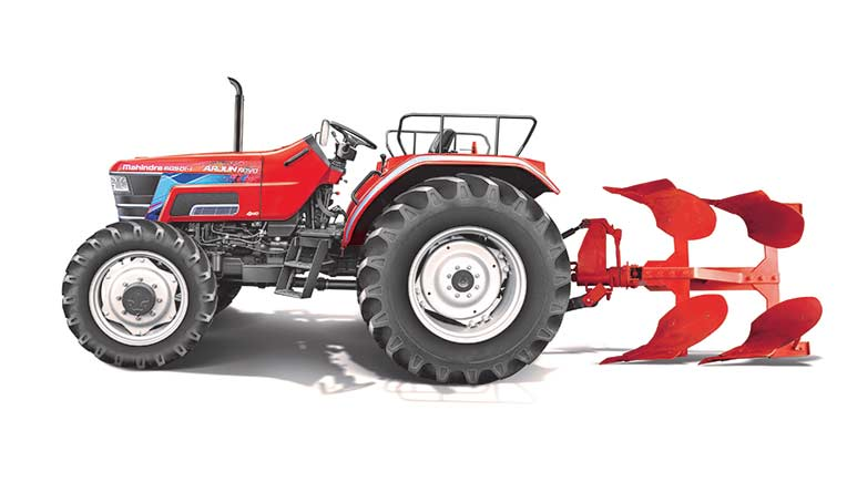 Pic for representation purpose only; Mahindra tractor