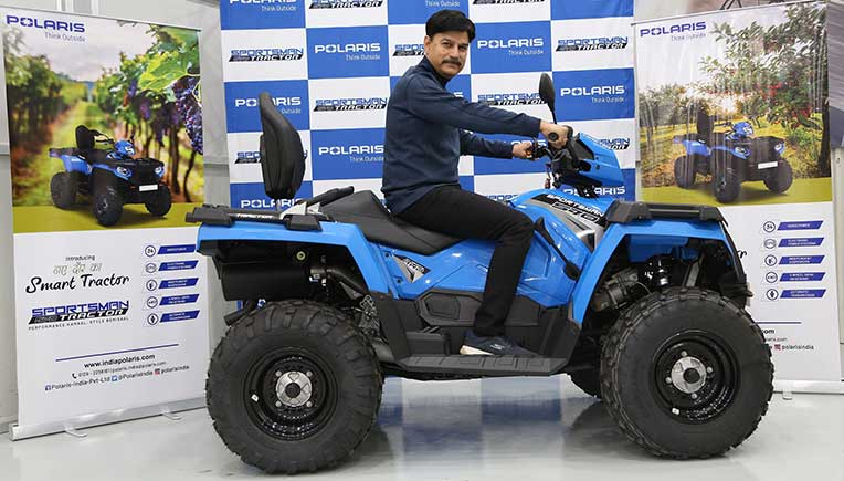 Polaris road-legal Sportsman 570 tractor launched at Rs 7.99 lakh