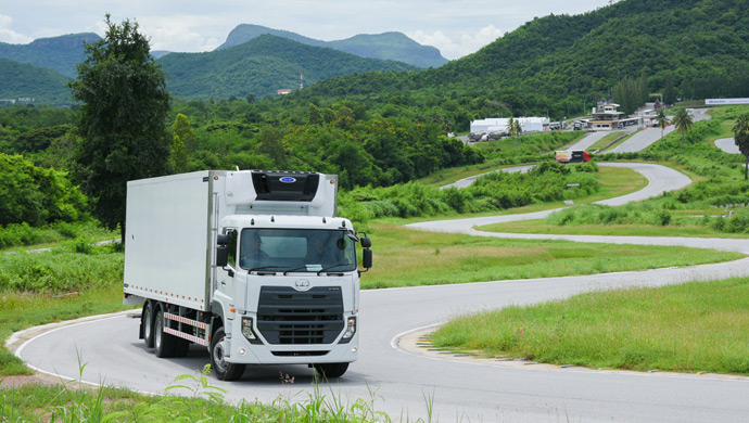 Quester truck from UD Trucks