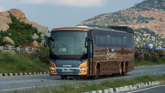 Scania bus, picture courtesy Scania