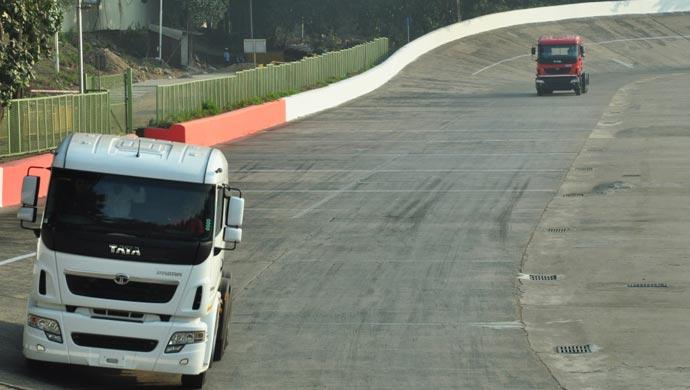 Jamshedpur test track