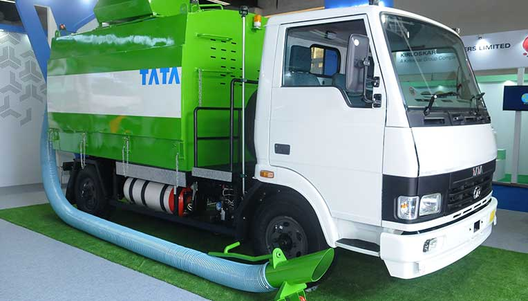 Tata Motors showcases environment-friendly solutions