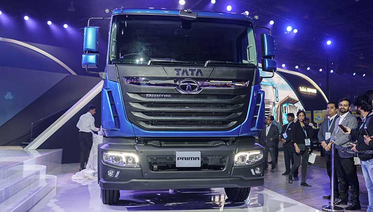New Tata Prima 5530.S Facelift