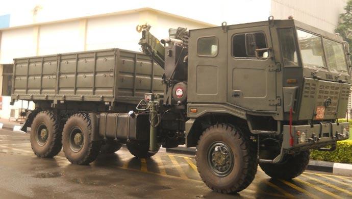 Tata Motors 6X6 multi-axle truck