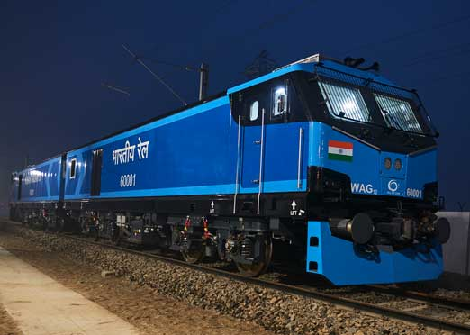 "Alstom completes most powerful all-electric ""Make-In-India"" locomotive"