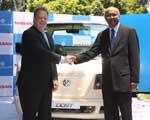 Ashok Leyland and Nissan unveils Dost LCV