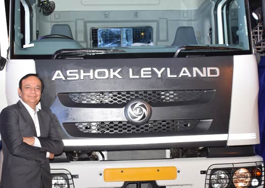 Ashok Leyland launches Captain Haulage, 3718 Plus trucks