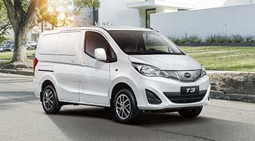BYD India introduces T3 electric minivan for commercial logistics