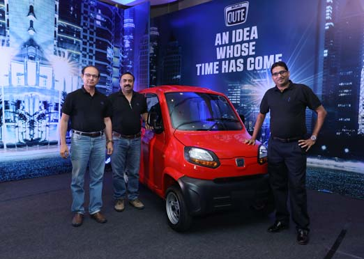 Bajaj Qute quadricycle launched for Rs 2.48 lakh