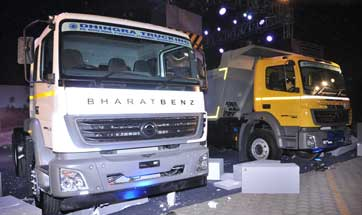 BharatBenz launches BS IV heavy-duty truck range in Delhi NCR