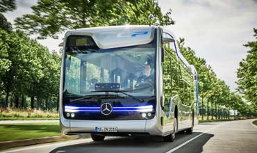 Daimler Buses presents autonomously driving city bus of the future