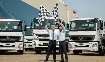 Daimler India Commercial Vehicles crosses 10,000 trucks export mark