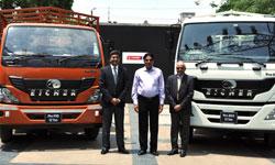 Eicher Pro series trucks now in Indore
