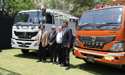 Eicher new truck launched in Hyderabad