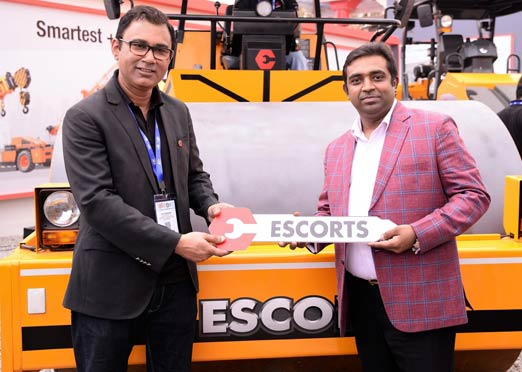 Escorts Construction Equipment unveils India's safest Pick-n-Carry Crane