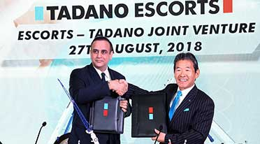 Escorts, Tadano Group JV for higher capacity mobile cranes