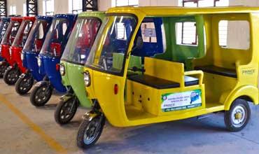 Goenka Electric Motors provides E-Rickshaws to BMC