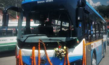 Goldstone electric bus is country's 1st for public transport