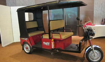 Hero Electric E-Rickshaw Raahii is launched in Delhi
